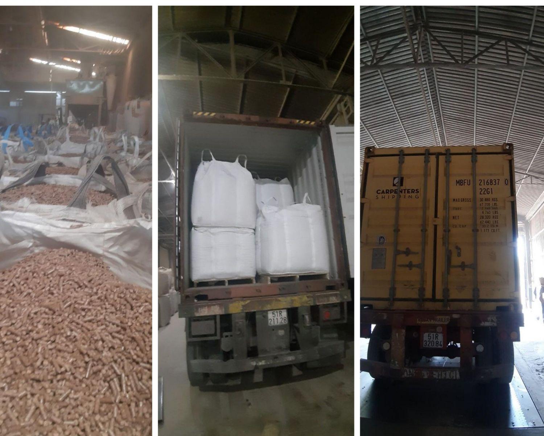 wood-pellet-packing